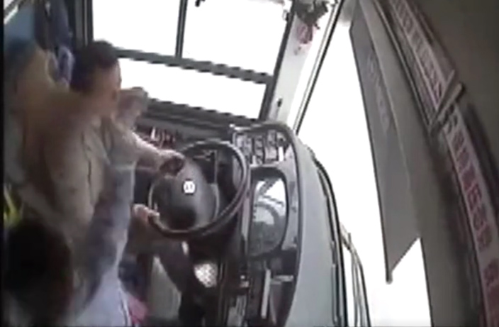 WATCH: Passenger and Driver Clash Before Fatal Bus Crash in Chongqing