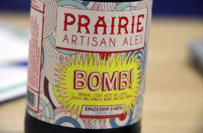 Beer of the Month: 'Bomb!' Spicy Stout by Prairie Artisan Ales
