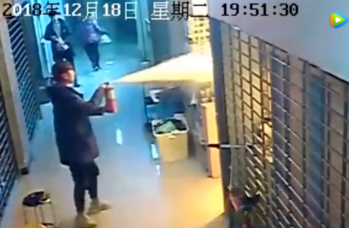 WATCH: 6-Year-Old Boy Sets Nanjing Shop on Fire