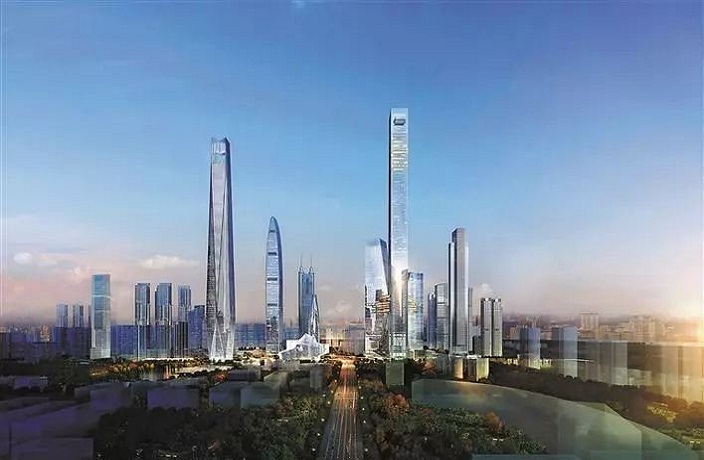 Plans for 700m-Tall Skyscraper Face Opposition in Shenzhen