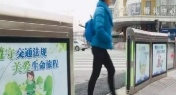 Automatic Doors Installed at Shanghai's Crosswalks to Stop Jaywalkers