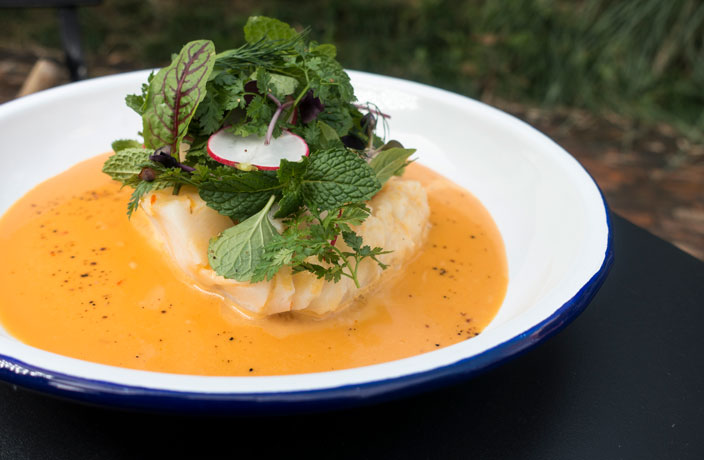 Recipe: Icelandic Cod with Sweet and Sour Sichuan Pepper Sauce