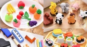 Buy 2, Get ¥15 Off These Super Fun Kid-Approved Puzzle Erasers
