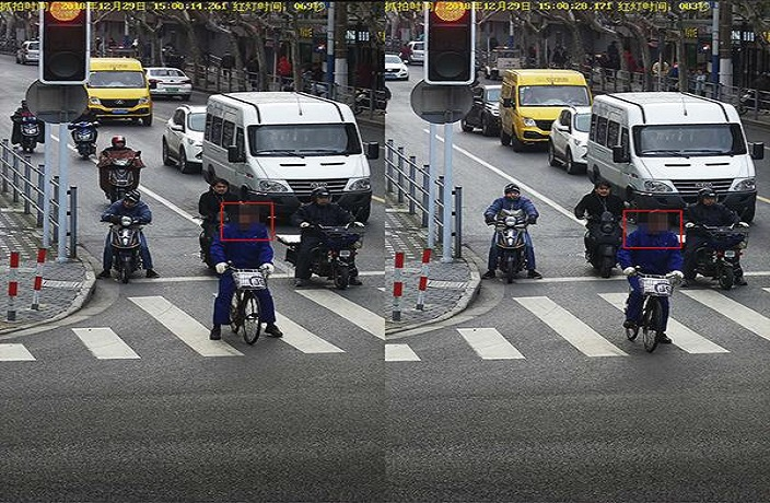 Shanghai Police Use Facial Recognition to Bust Bad Bike Riders