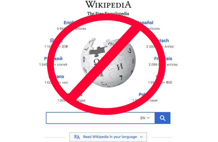 Wikipedia Currently Down in China