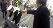 WATCH: Shanghai Woman Detained for 5 Days for Resisting Traffic Police