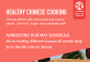 Healthy Chinese Cooking Vegan Class