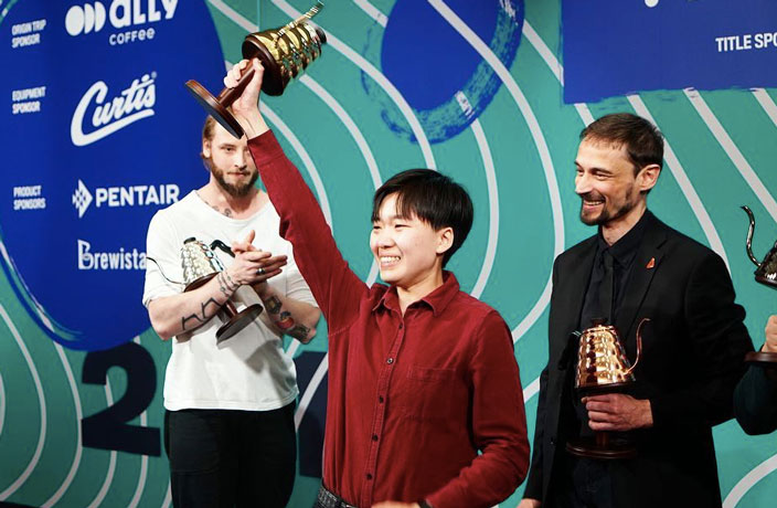 Chinese Barista Wins World Coffee Competition