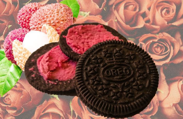 We Tried Lychee Rose Oreos and Were Pleasantly Surprised