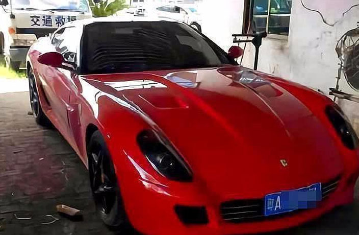Insanely Cheap Ferrari Put on Auction in Dongguan