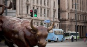 The Story Behind the Charging Bull Statue on the Bund