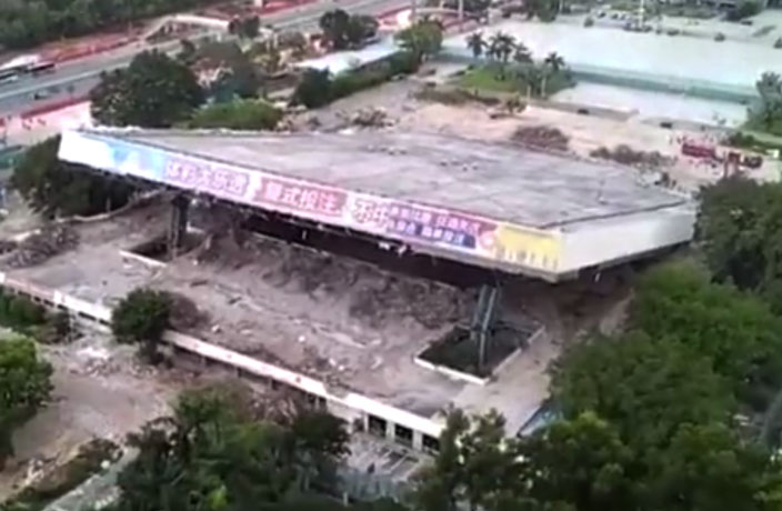 Shenzhen Stadium Collapse Leaves 3 Dead, 3 Others Injured