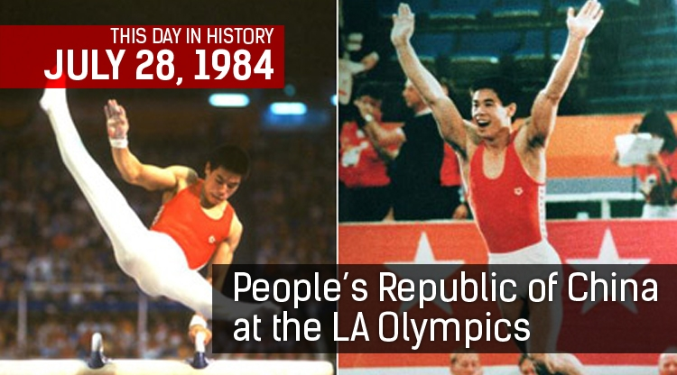 This Day in History: China at the 1984 LA Olympics