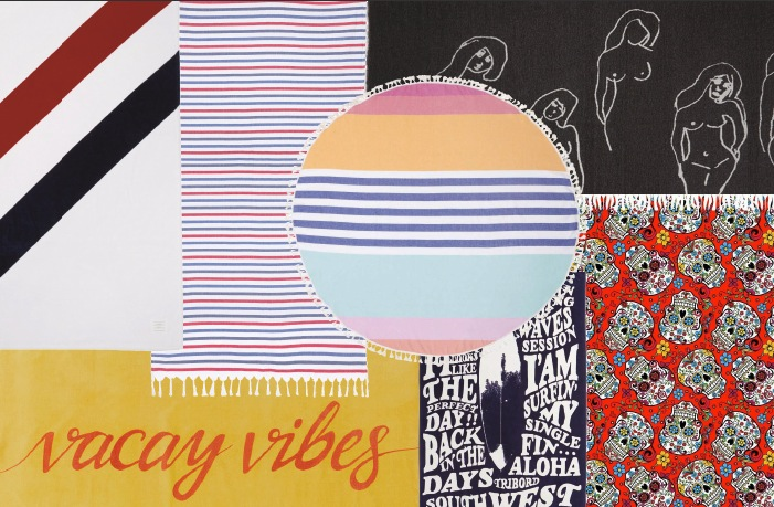 9 Stylish Beach Towels to Keep You Dry This Summer