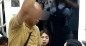 WATCH: Elderly Man Forces Woman to Give up Her Seat on China Metro