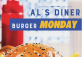 Burger Mondays at Al's Diner
