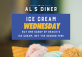 Ice Cream Wednesdays at Al's Diner