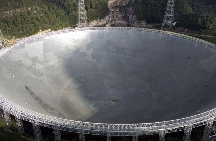China's Huge Telescope Detects Strange Signals from Deep Space
