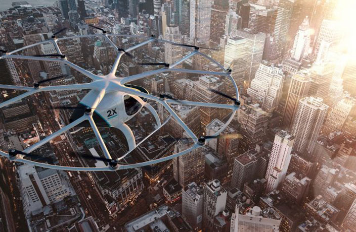 Chinese Auto Giant Invests Big in Air Taxi Start-Up Volocopter