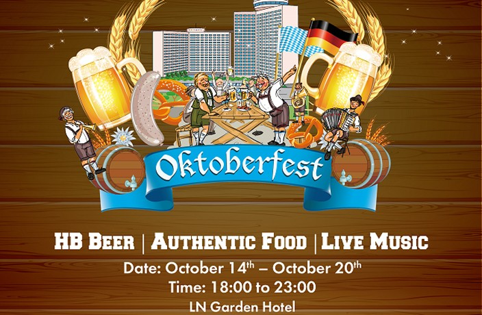 Free Flow Beer and Great Food at this Oktoberfest Celebration in Guangzhou
