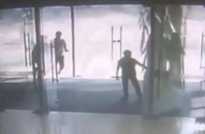 WATCH: Glass Door Shatters on Young Boy in South China