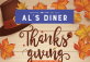 Thanksgiving Bonanza Plate at Al's Diner