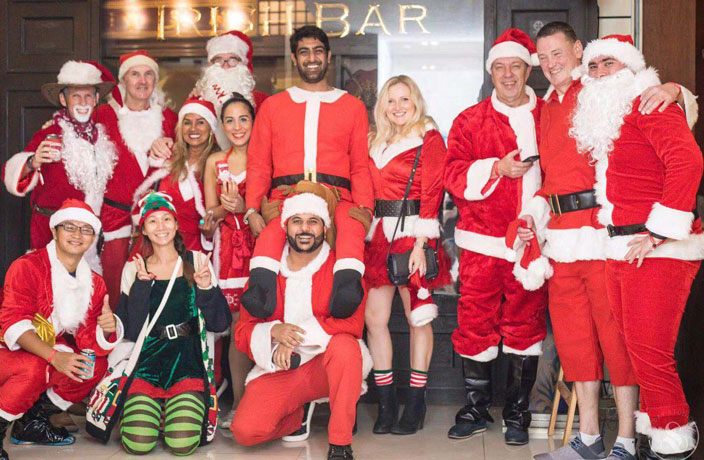 Tickets for Guangzhou's 2019 Santa Pub Crawl Available from Next Week