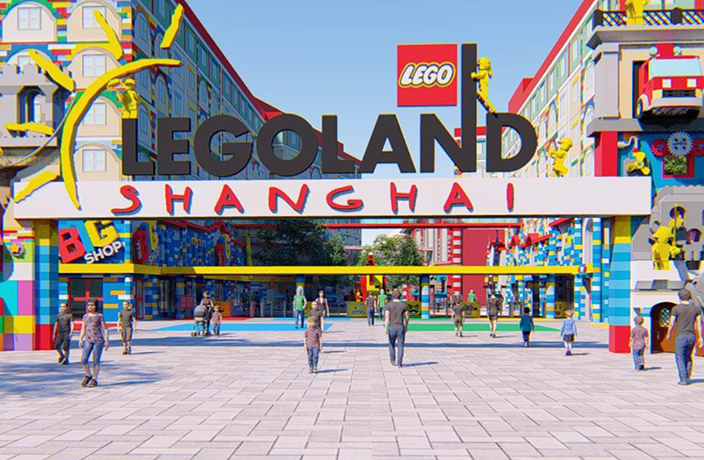 Shanghai Will Soon Be Home to the World's Largest Legoland