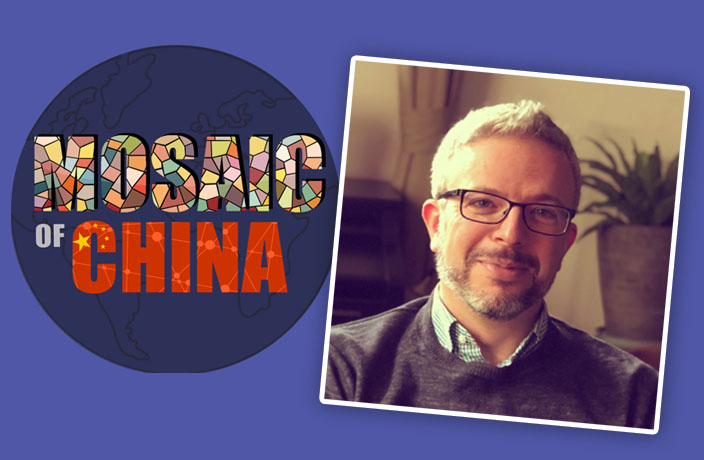 Oscar Fuchs' Podcast Making a Mosaic of China's Myriad Lives