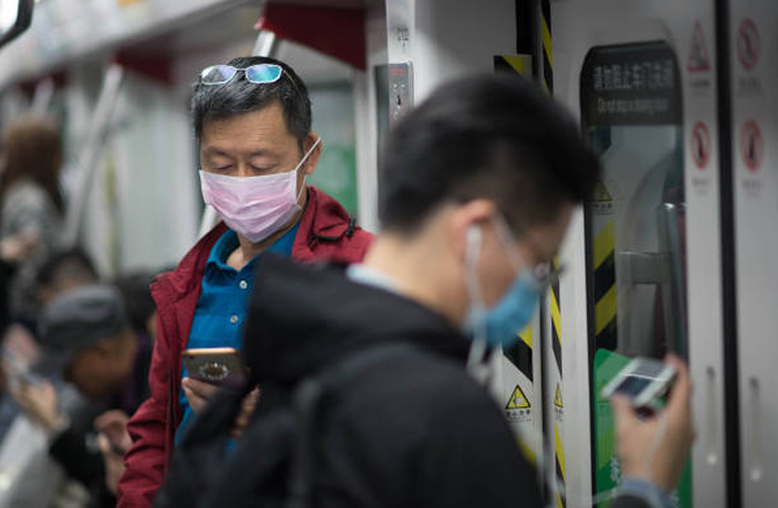 Guangzhou Metro is Screening Commuters for Coronavirus
