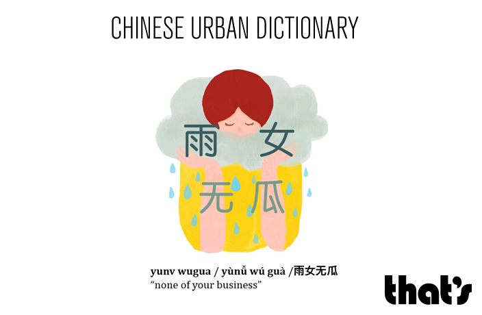 Chinese Urban Dictionary: Yunv Wugua