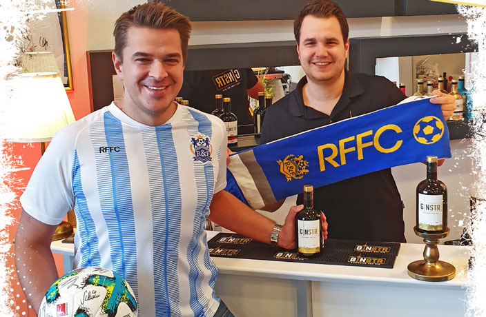 Elite Gin Brand GINSTR Partners With Guangzhou R&F FC