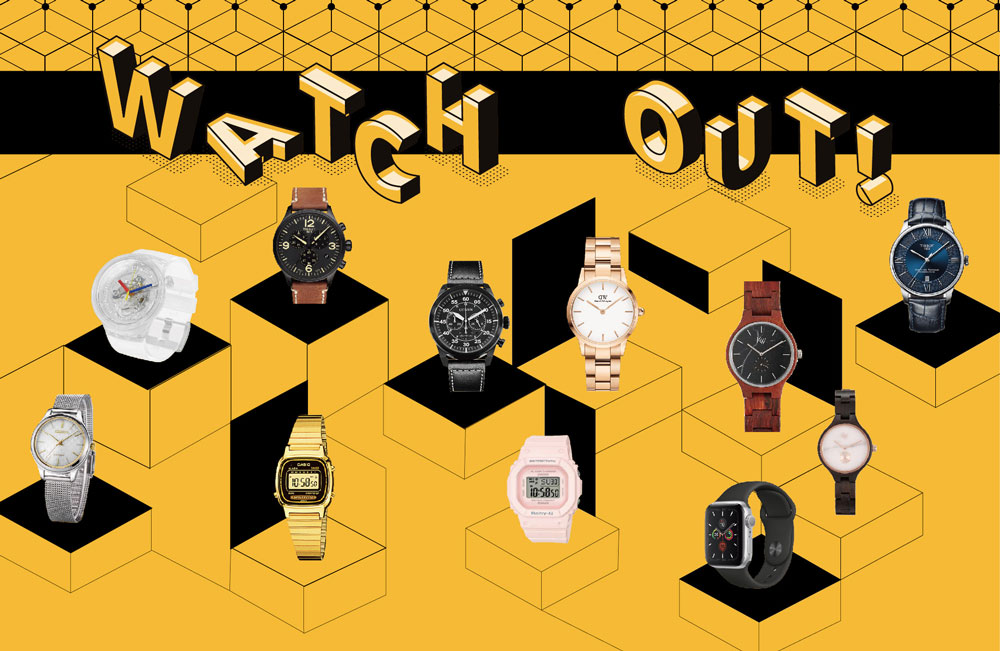 11 Timepieces to Keep You on Track