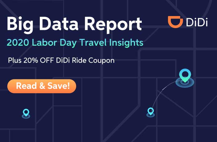 DiDi's Big Data Shows How People Traveled Over Labor Day Break