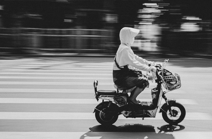 Helmets Required for All Scooter Riders in China next Month