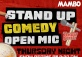 Stand Up Comedy Open Mic @Mambo