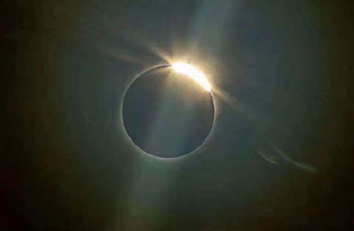 PHOTOS: 'Ring of Fire' Eclipse Wows People Across China