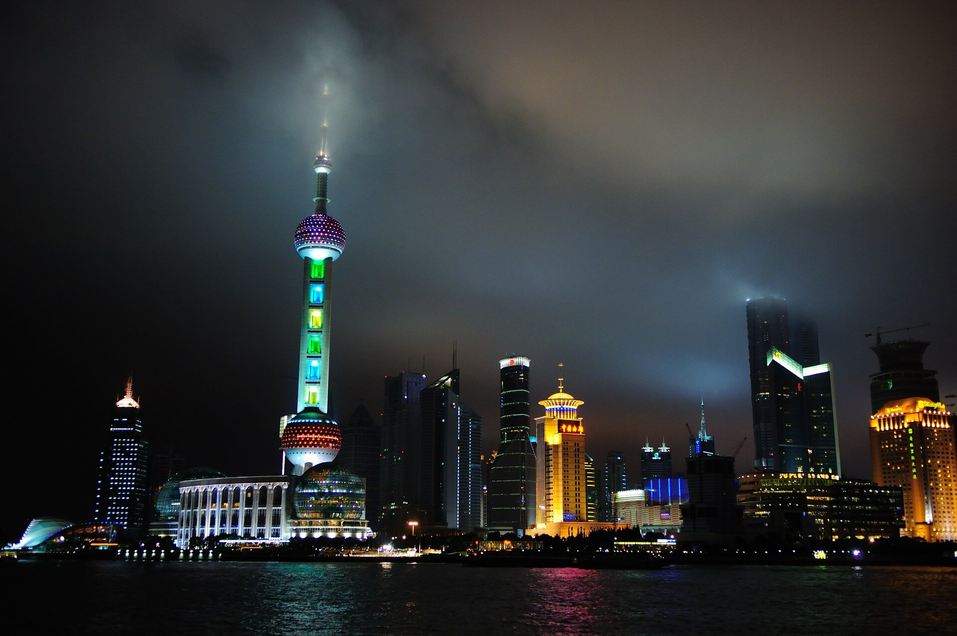 Shanghai Nightview China Pudong