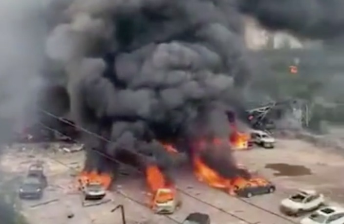 20 Dead in Gas Tanker Blast in East China
