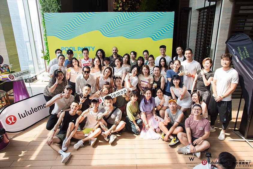 Invigorating Daydream Pool Party Event at W Guangzhou