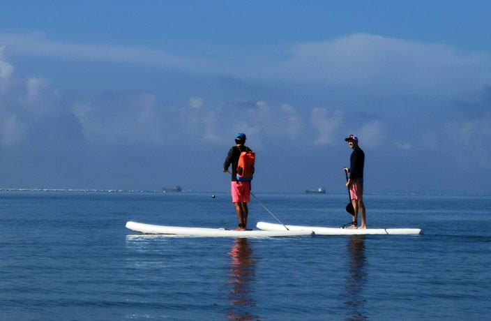 Why Stand-up Paddleboarding Hasn't Made Waves In China