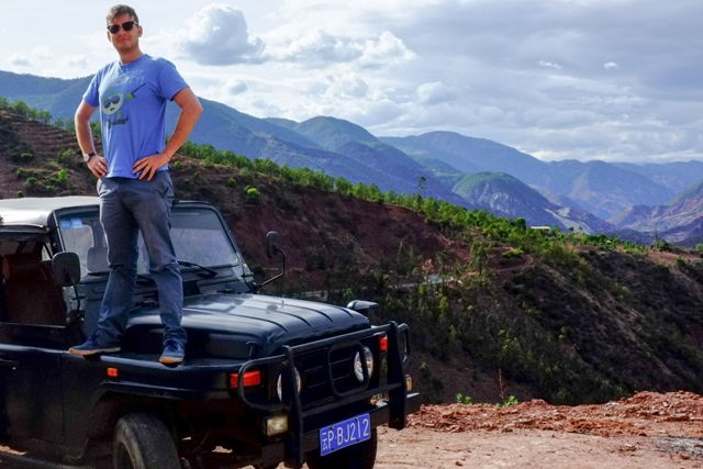 Maxime Tondeur Helping China Travelers Explore Beyond in China