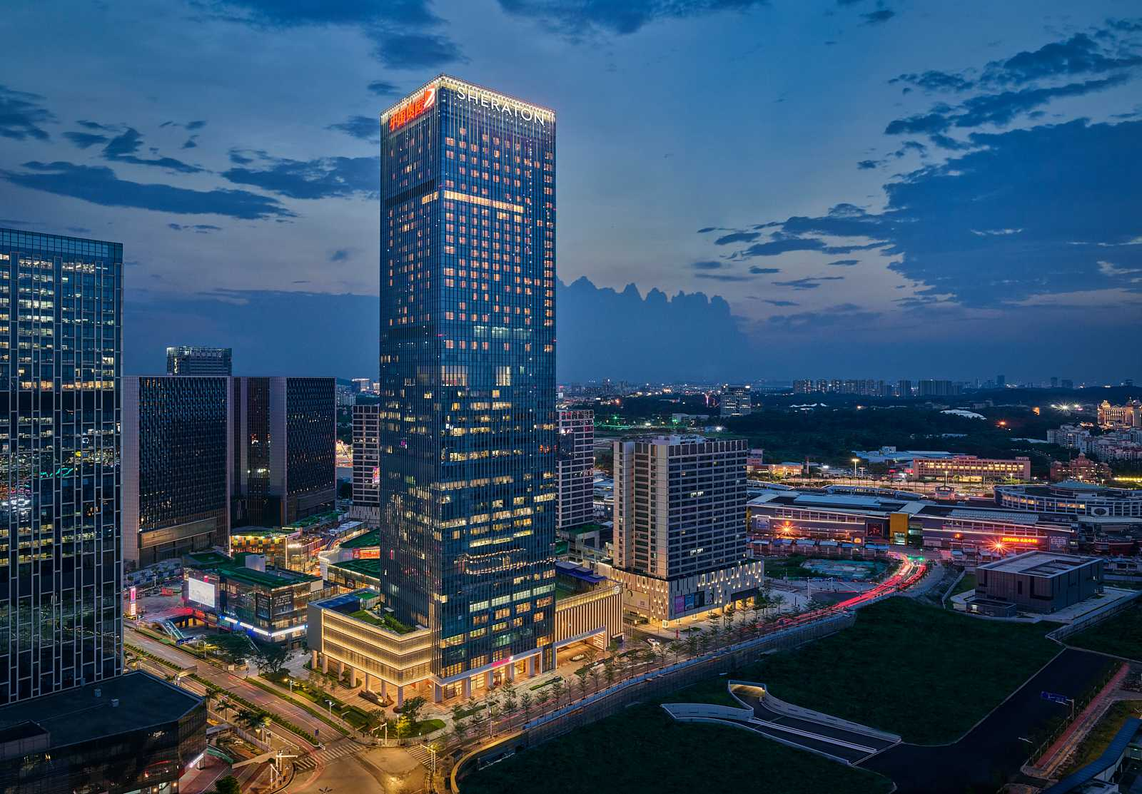 Panyu District Welcomes 1st International Hotel Sheraton Guangzhou Panyu
