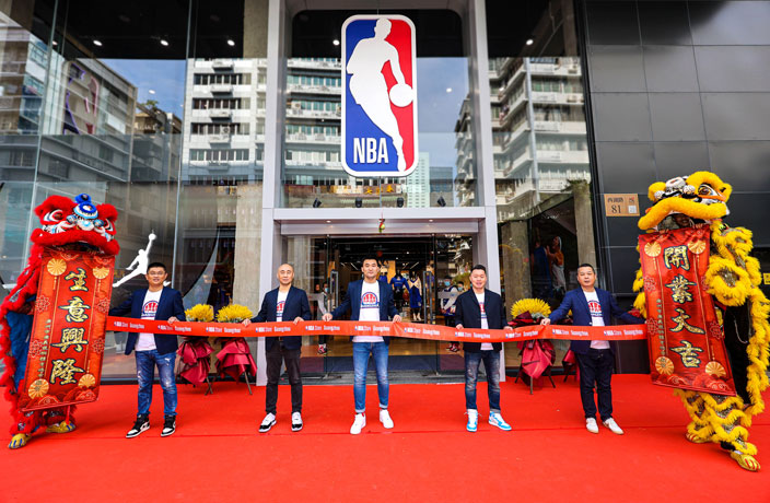 World's Largest NBA Store Opens in Guangzhou