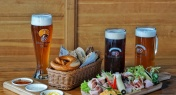 Authentic German Eats and Ales at Hacker-Pschorr Wirtshaus