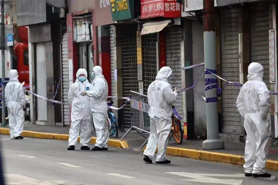 3 New Cases in Shanghai: Downtown Areas Cordoned Off