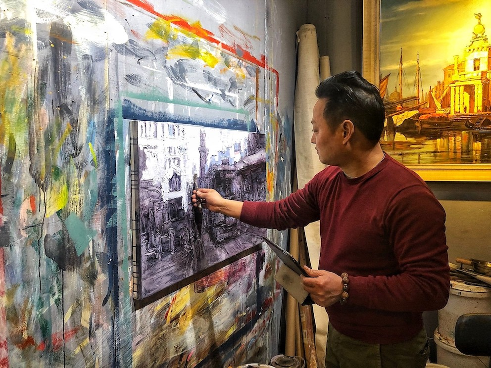We Checked Out Quirky Art Market, Shanghai Painter's Street