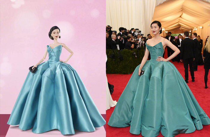 Liu Wen, Chinese Supermodel, is Now a Barbie Too