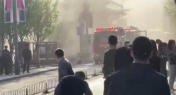 WATCH: Fire in Beijing's 798 Art District Draws Onlookers