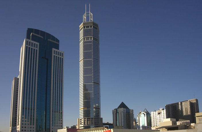 WATCH: Wobbling Shenzhen Skyscraper Causes Mass Panic